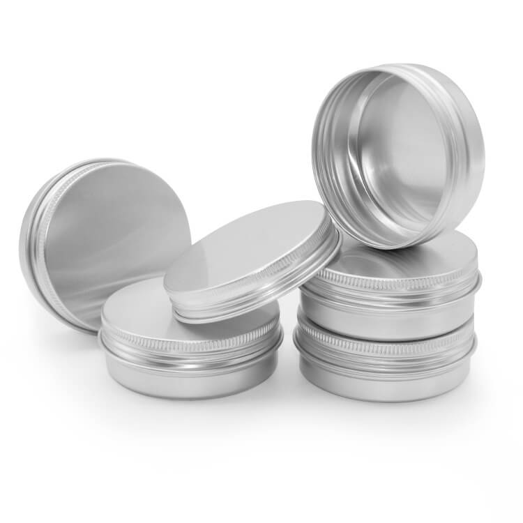 aluminum screw top tins