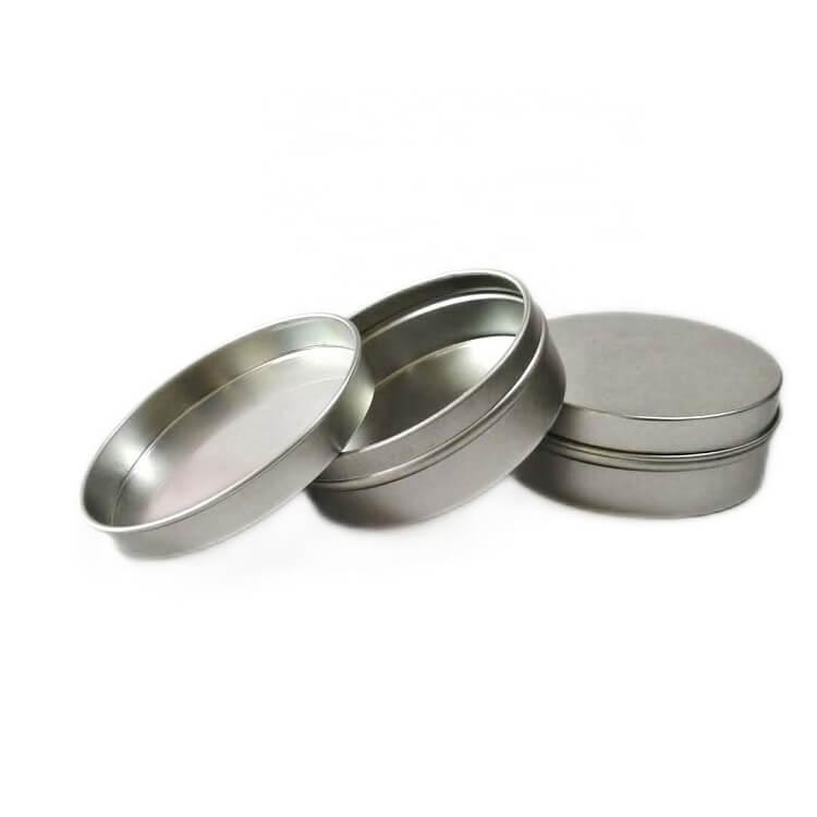 aluminum tins with slip lid