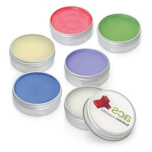 smal cosmetic tin containers