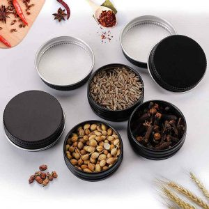 spice tin containers