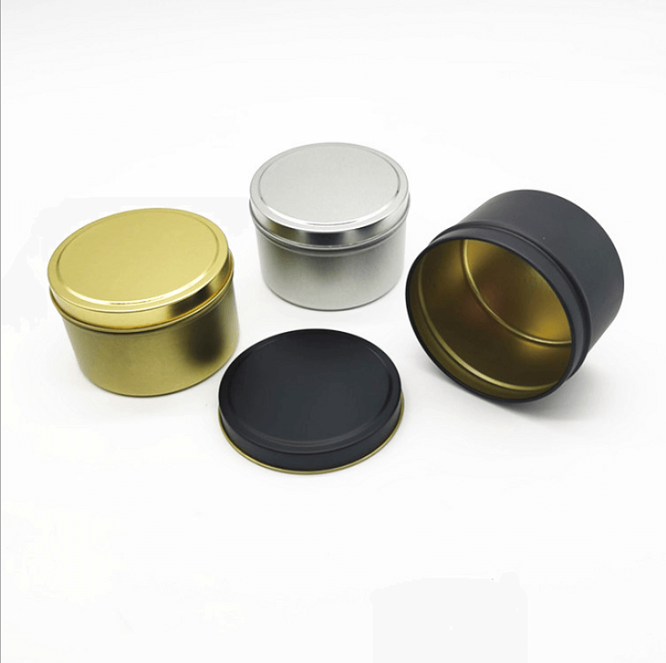 tins with slip cover lid