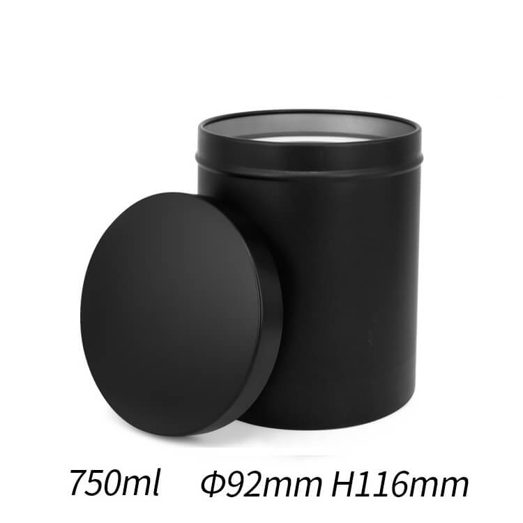 750ml tin container