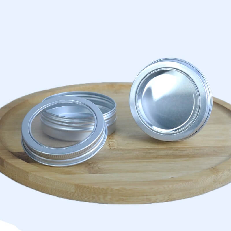 aluminum window lid tins