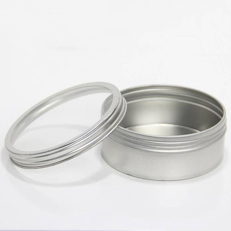 clear lid tin