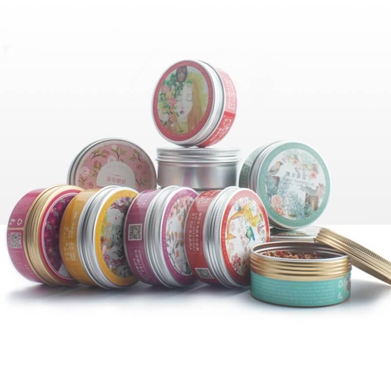 cosmetic tin