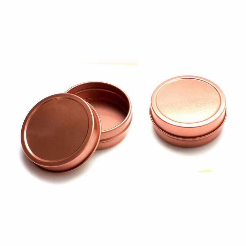 gold slipcover tin