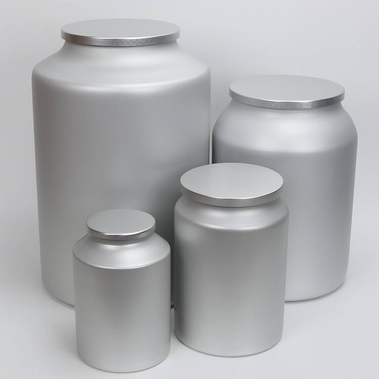 large sealed tin container