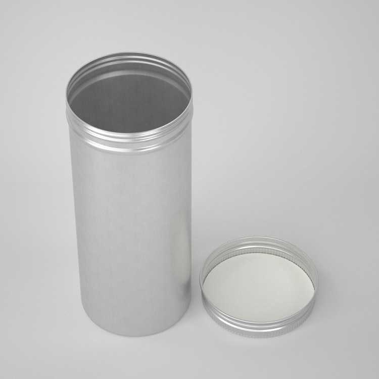 large tin container screw lid