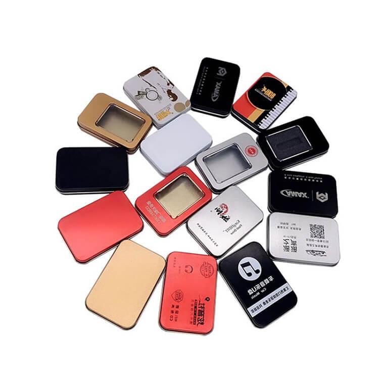 rectangular tin containers wholesale