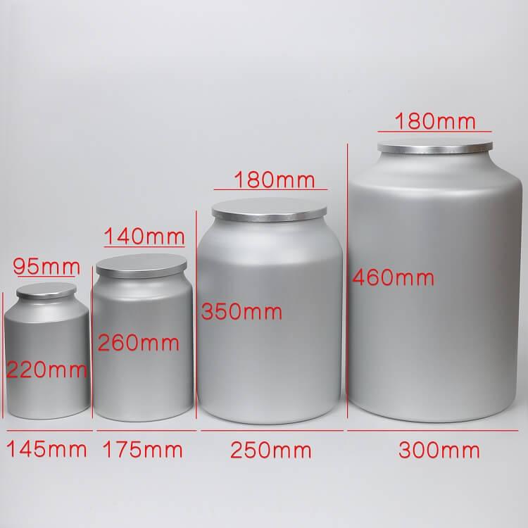 sealed large tins