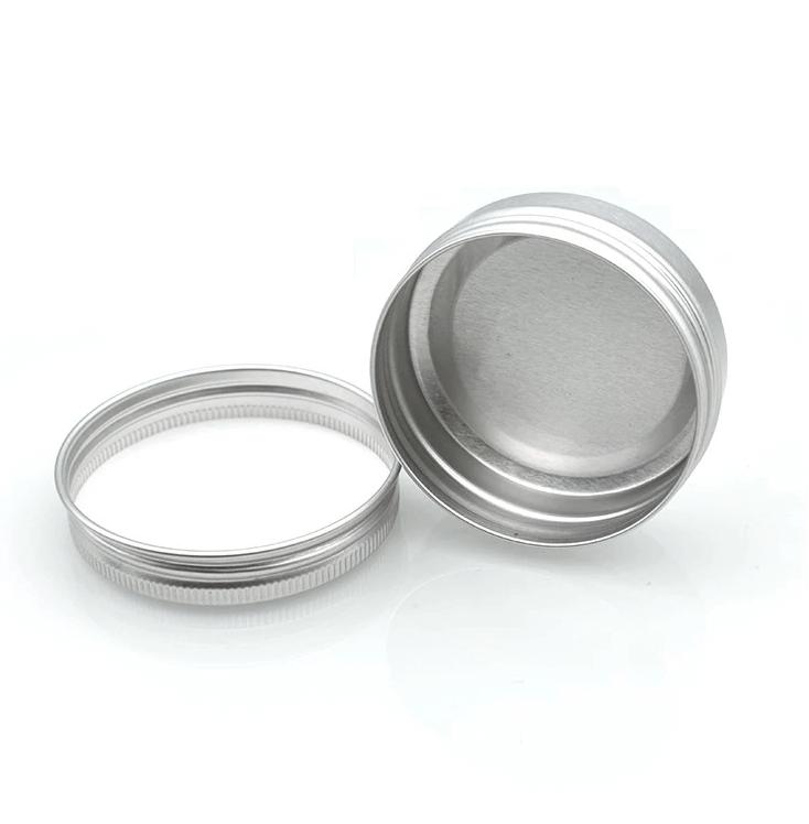 small screw lid tin opened