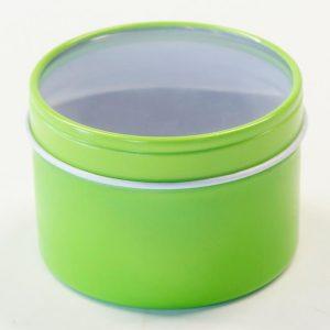 slipcover green tin