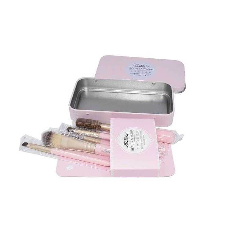 cosmetic rectangular tin