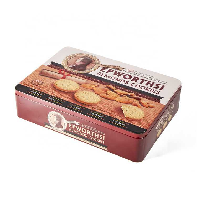 decorative cookie tin