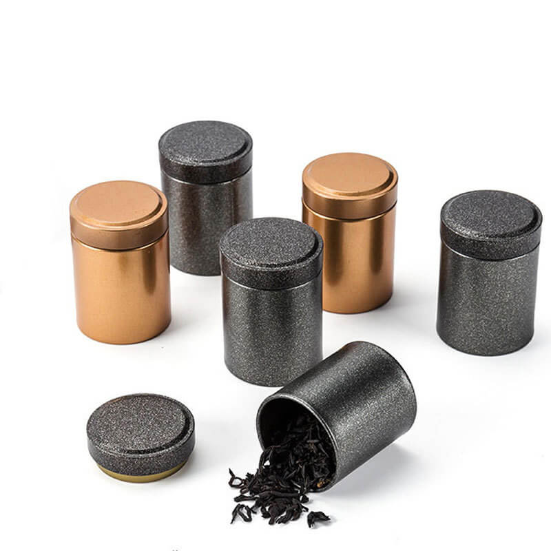 small tea containers