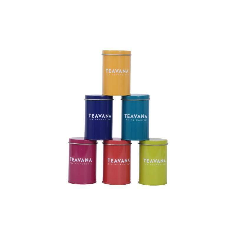 small teavana tea tin